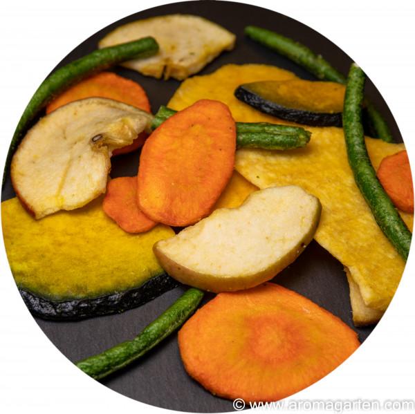 Frucht-Gemüsechips