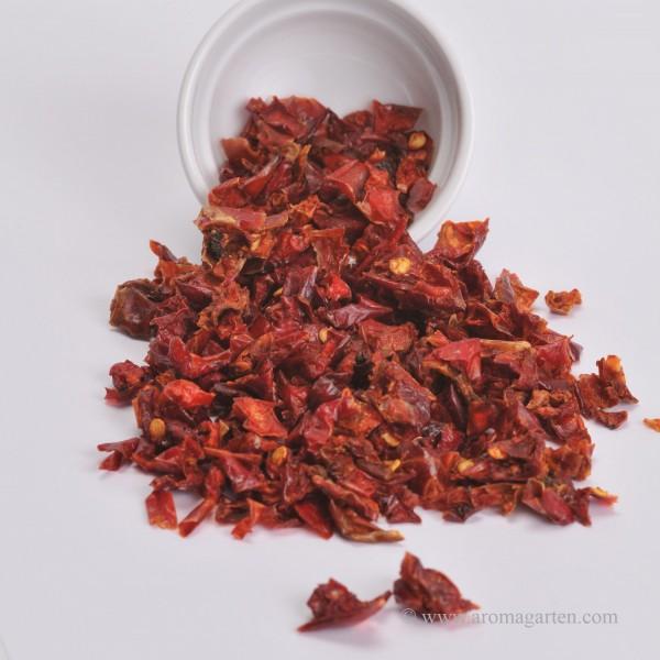 Paprika, Paprikaflocken, rot